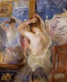 Before the Mirror Berthe Morisot