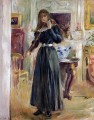 Julie Playing a Violin Berthe Morisot