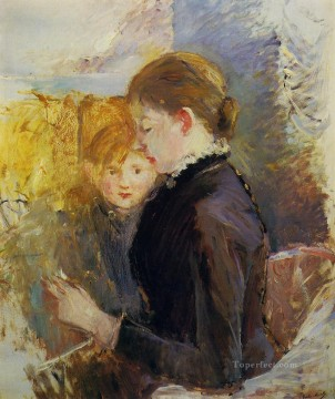 Miss Reynolds Berthe Morisot Oil Paintings