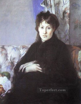 Portrait of Edma Pontillon nee Morisot Berthe Morisot Oil Paintings