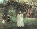 The Butterfly Chase Berthe Morisot