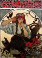Moravian Teachers Choir Czech Art Nouveau distinct Alphonse Mucha