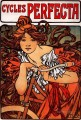 Perfecta Cycles 1902 Czech Art Nouveau distinct Alphonse Mucha