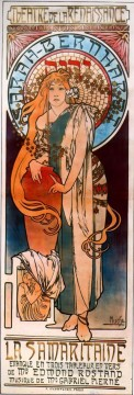 La Samarataine 1897 Czech Art Nouveau distinct Alphonse Mucha Oil Paintings