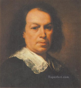 spanish spain Painting - Self Portrait Spanish Baroque Bartolome Esteban Murillo