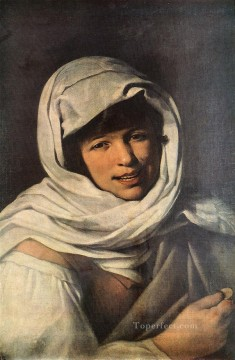 spanish spain Painting - The Girl with a Coin Girl of Galicia Spanish Baroque Bartolome Esteban Murillo