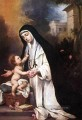 St Rose of Lima Spanish Baroque Bartolome Esteban Murillo