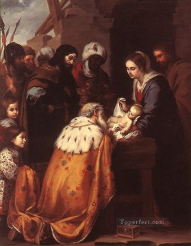 Adoration Art - Adoration of the Magi Spanish Baroque Bartolome Esteban Murillo