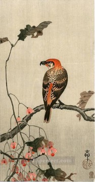 crossbill Ohara Koson Shin hanga Oil Paintings