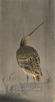 snipe in rain Ohara Koson Shin hanga Oil Paintings