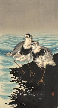 hanga Deco Art - knots on shore Ohara Koson Shin hanga