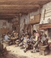 Tavern Interior Dutch genre painters Adriaen van Ostade oil painting