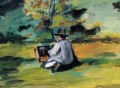 A Painter at Work Paul Cezanne
