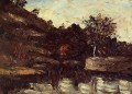 Bend in the River Paul Cezanne