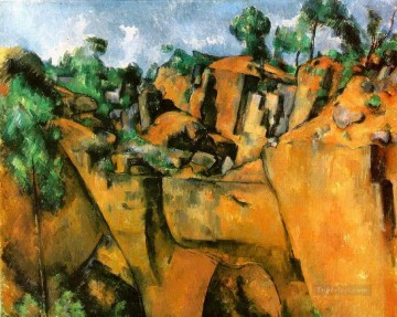 Bibemus Quarry 1900 Paul Cezanne Oil Paintings