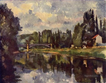 Bridge over the Marne Paul Cezanne Oil Paintings