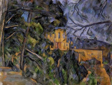 Paul Cezanne Painting - Chateau Noir Paul Cezanne