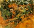 Corner of Quarry Paul Cezanne