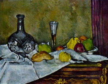 Paul Cezanne Painting - Dessert Paul Cezanne