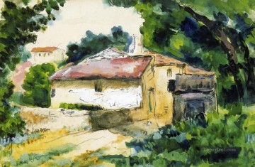 House in Provence Paul Cezanne Oil Paintings