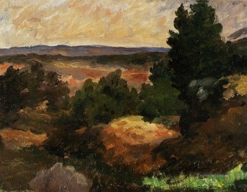 Landscape 1867 Paul Cezanne Oil Paintings
