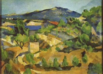 mountains canvas - Mountains in Provence L Estaque Paul Cezanne