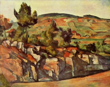Mountains in Provence Paul Cezanne Oil Paintings