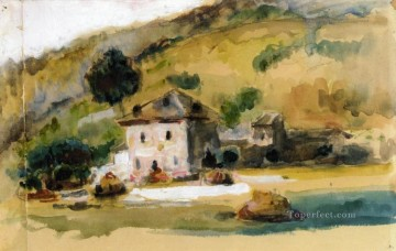 Near Aix En Provence Paul Cezanne Oil Paintings