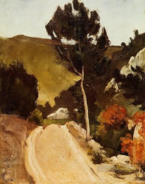 Road in Provence Paul Cezanne Oil Paintings