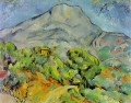 Road near Mont Sainte Victoire Paul Cezanne