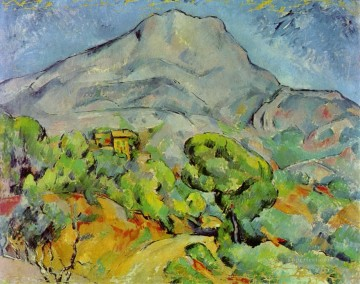 Sainte Painting - Road near Mont Sainte Victoire Paul Cezanne