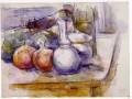 Still Life with Carafe Paul Cezanne