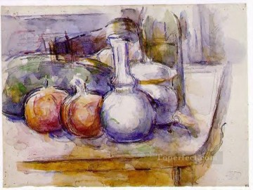 Still Life with Carafe Paul Cezanne Oil Paintings