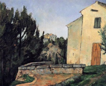 The Abandoned House Paul Cezanne Oil Paintings
