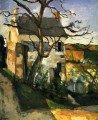 The House and the Tree Paul Cezanne