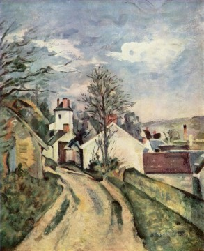 The House of Dr Gached in Auvers Paul Cezanne Oil Paintings