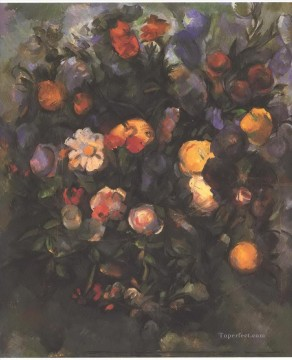 Vase of Flowers Paul Cezanne Oil Paintings