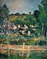 View of Auvers 2 Paul Cezanne