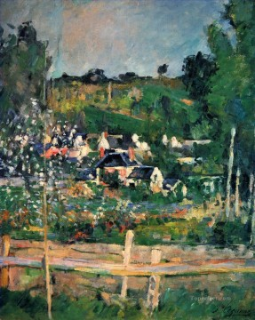 View of Auvers 2 Paul Cezanne Oil Paintings
