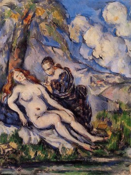 Bath Painting - Bathsheba Paul Cezanne