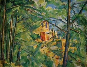 Chateau Noir 3 Paul Cezanne Oil Paintings
