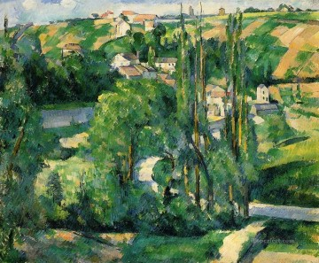 Cezanne Art Painting - Cote du Galet at Pontoise Paul Cezanne
