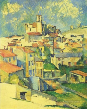 Paul Cezanne Painting - Gardanne 2 Paul Cezanne