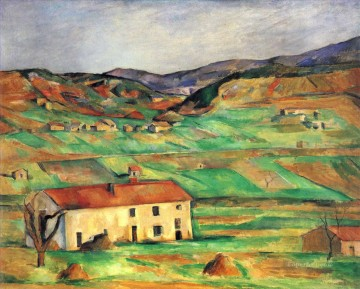 Gardanne Paul Cezanne Oil Paintings