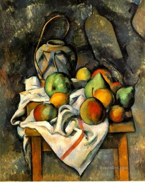 Ginger Jar Paul Cezanne Oil Paintings
