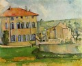 House and Farm at Jas de Bouffan Paul Cezanne