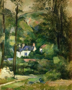 Houses in the Greenery Paul Cezanne Oil Paintings