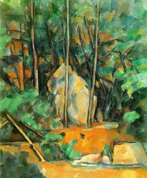 Paul Cezanne Painting - In the Park of Chateau Noir Paul Cezanne