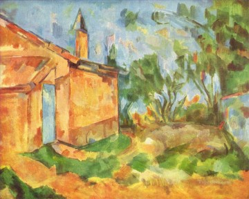 Jourdan Cottage Paul Cezanne Oil Paintings