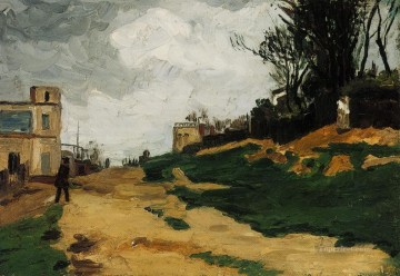 Landscape 1867 2 Paul Cezanne Oil Paintings